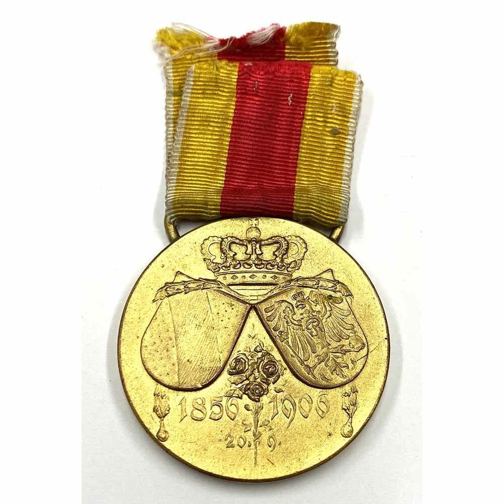Fredrich-Luisen Medal 1856-1906 2
