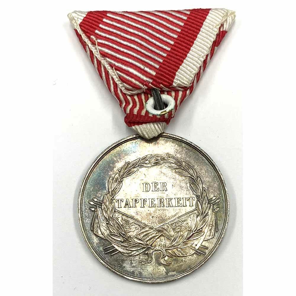 Medal for Bravery Franz Joseph I, 1866-1914 large silver 2