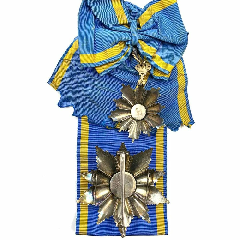 Order of the Nile Grand Cross Set with sash 2