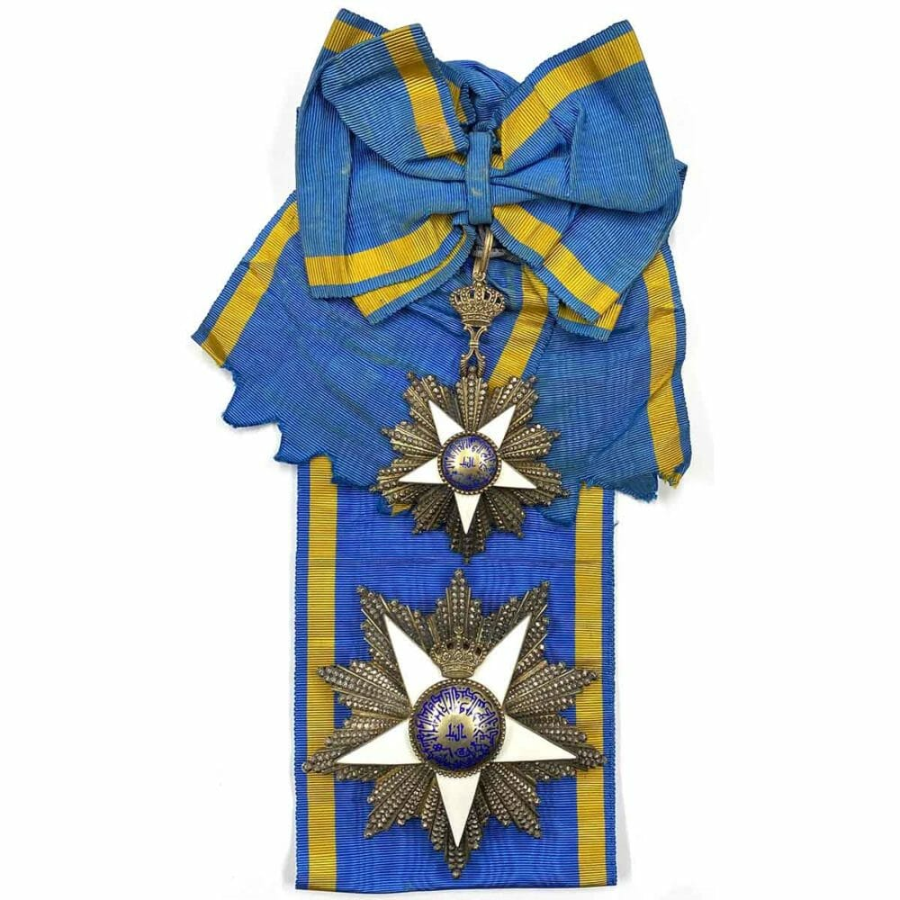 Order of the Nile Grand Cross Set with sash 1