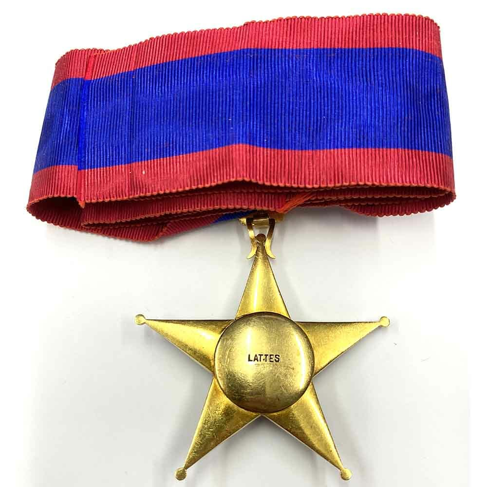 Order of Ismail Commander neck badge 22ct Gold 2