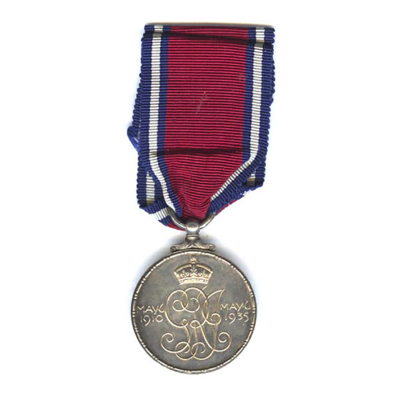 1935 Silver Jubilee Medal 2