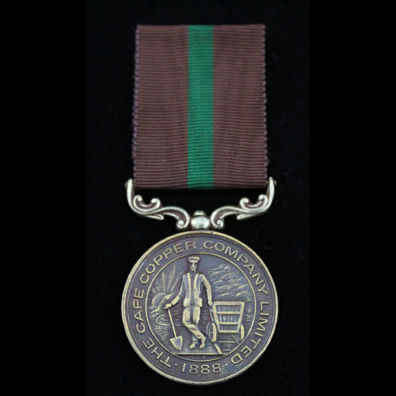 Cape Copper Company Medal for the Defence of O'okiep 1