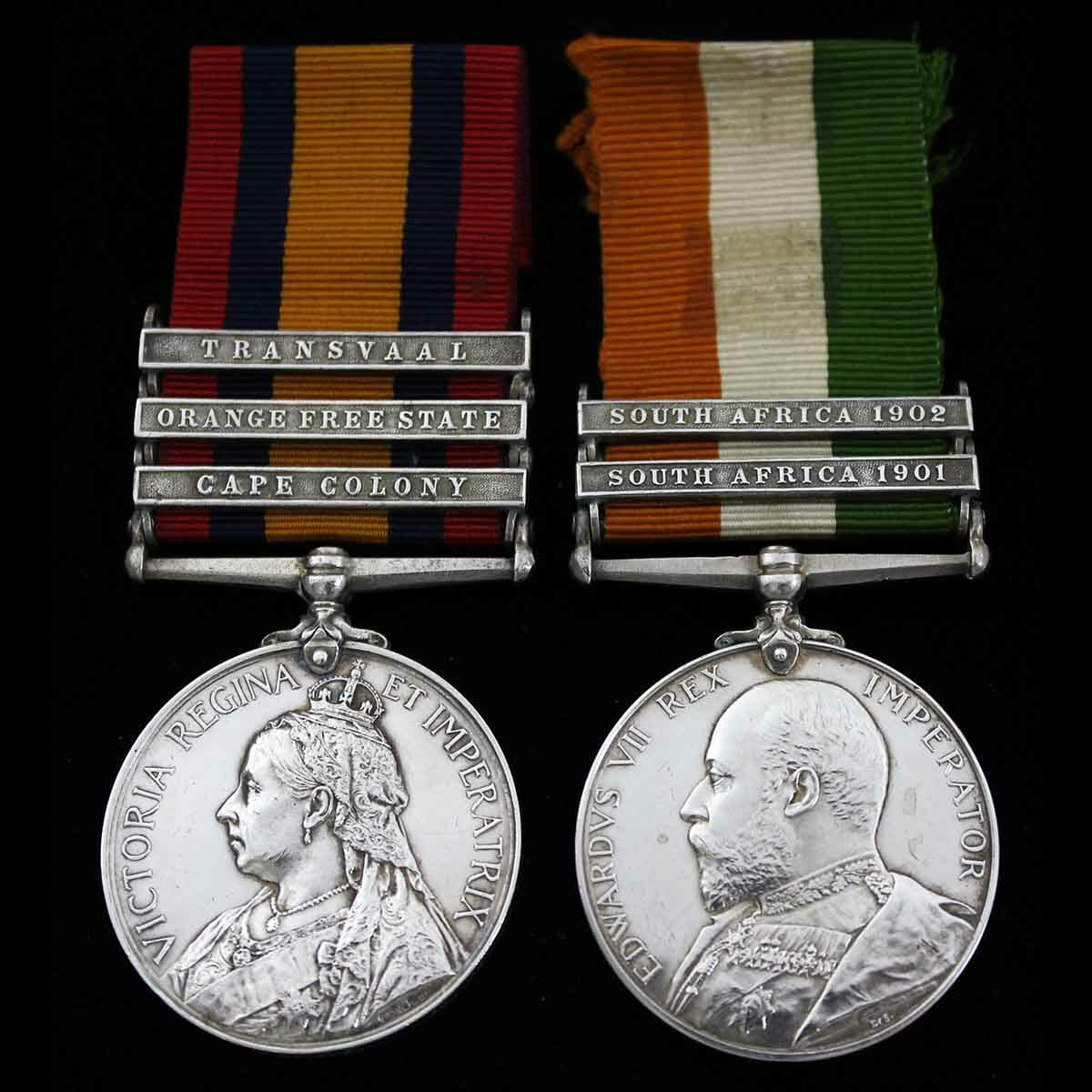 QSA KSA Pair Major Dr Stiell RAMC 1