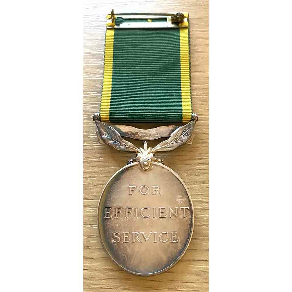 Territorial Efficiency Medal, Northd Fusiliers 2