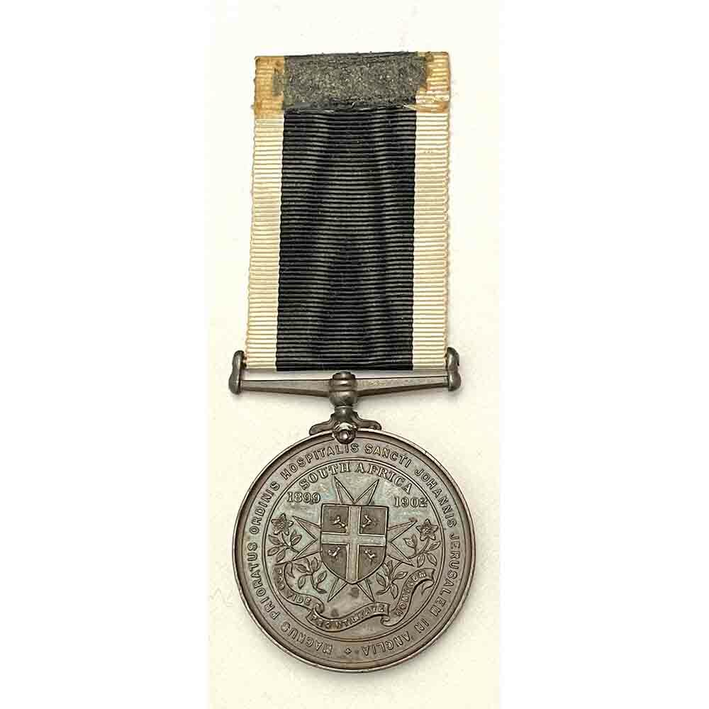 St John Ambulance Boer War Medal 2