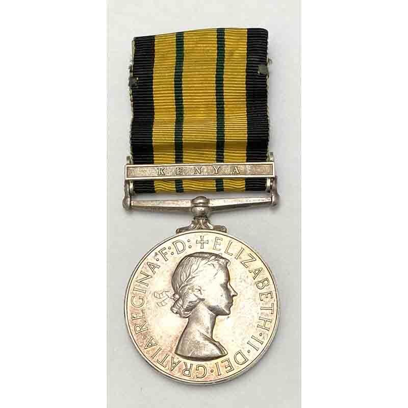 Africa General Service Medal Kenya KAR 1