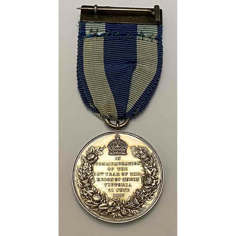 1887 Jubilee Medal silver 2