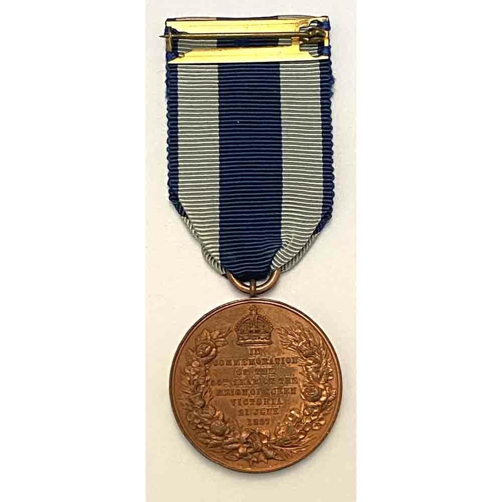 1887 Jubilee Medal bronze 2