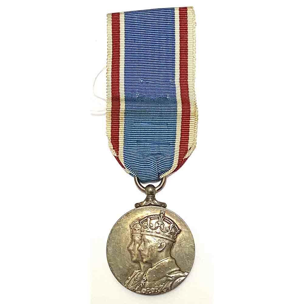 1937 Coronation Medal GVI 1