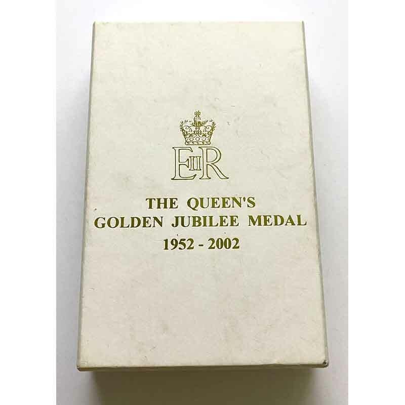 2002 Golden Jubilee medal EIIR 2