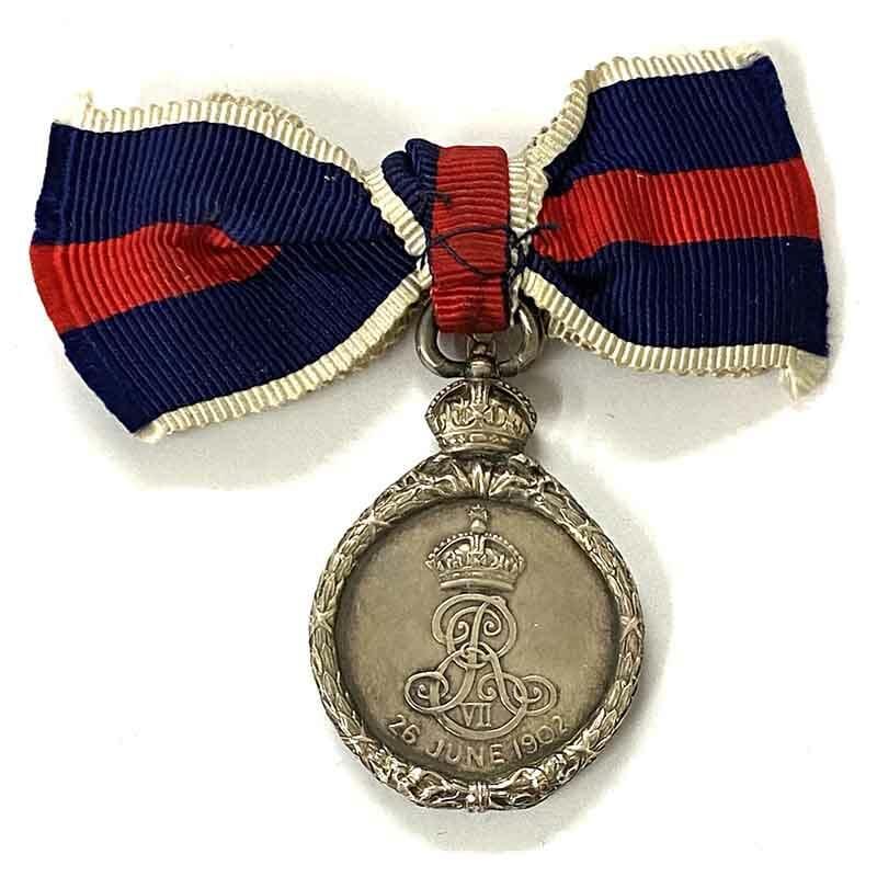 1902 Coronation EVII silver 2