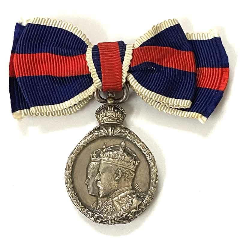 1902 Coronation EVII silver 1