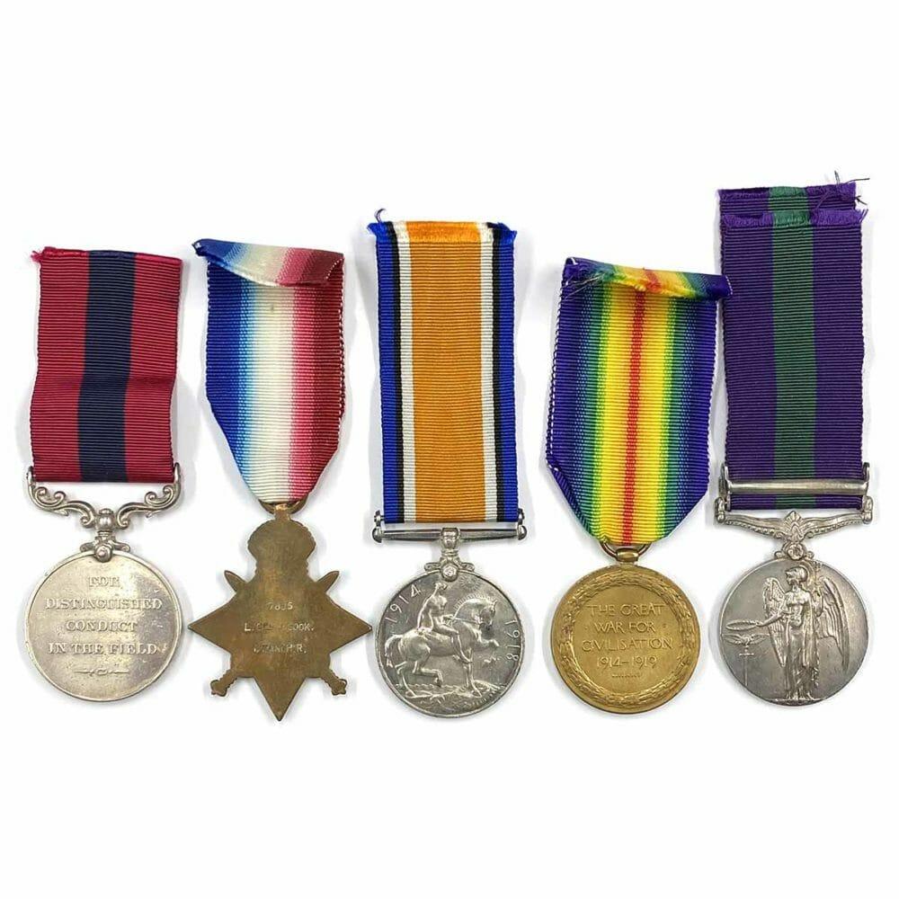 DCM Trio GSM Iraq, Manchester Regiment 2