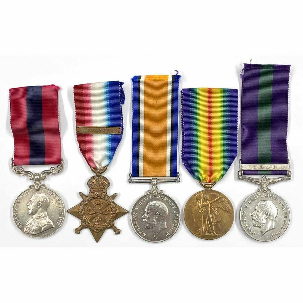 DCM Trio GSM Iraq, Manchester Regiment 1