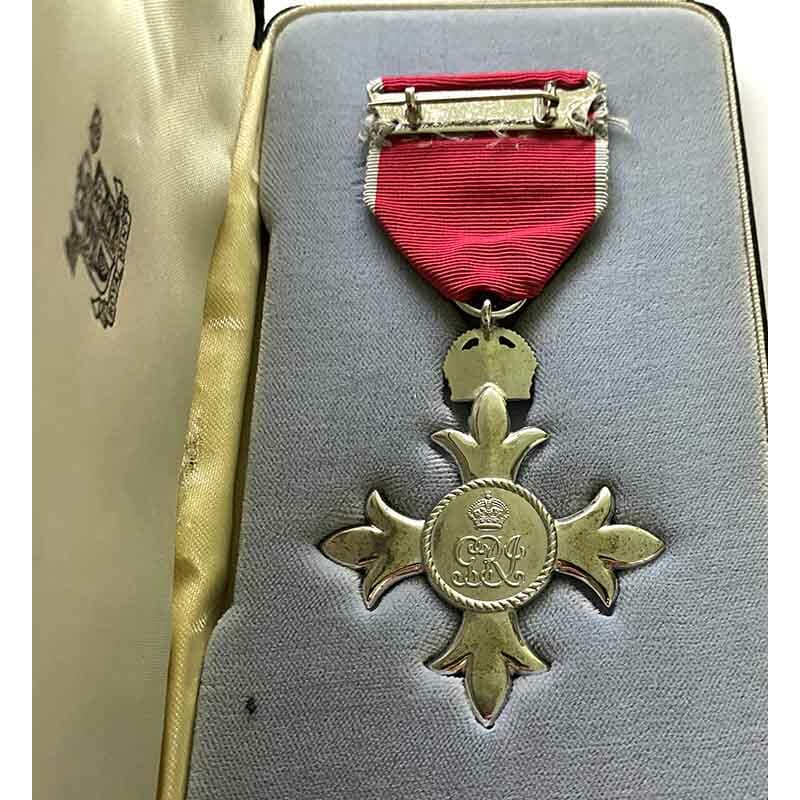 Member of the Order of the British Empire 3