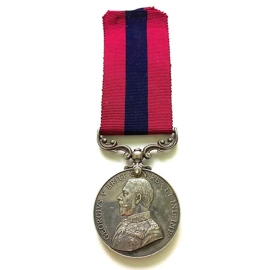Distinguished Conduct Medal part Erased SAMC 1