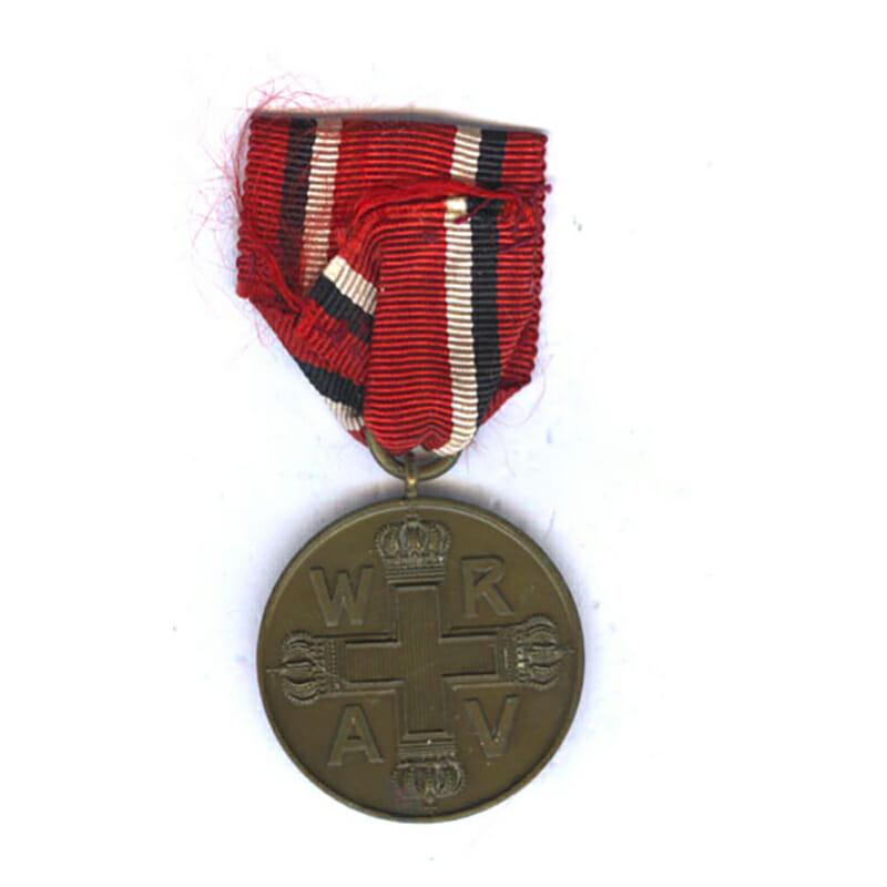Red Cross medal bronze 1