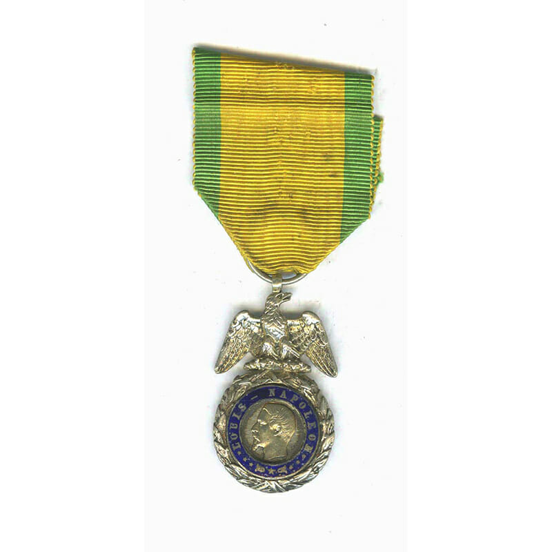 Medaille Militaire Napoleon III Crimea period slt . chipping to reverse(L20349)  G.V.F... 1