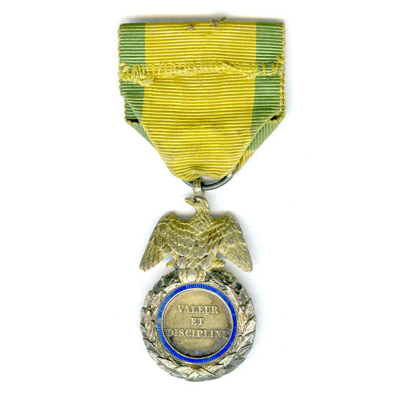 Medaille Militaire Napoleon III Crimea period slt . chipping 2