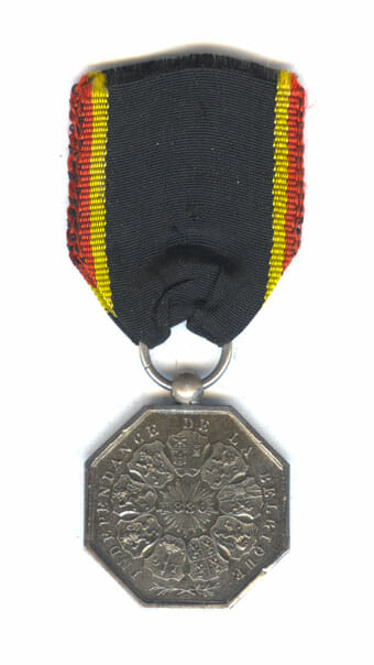 Iron Medal 1830  in iron 2