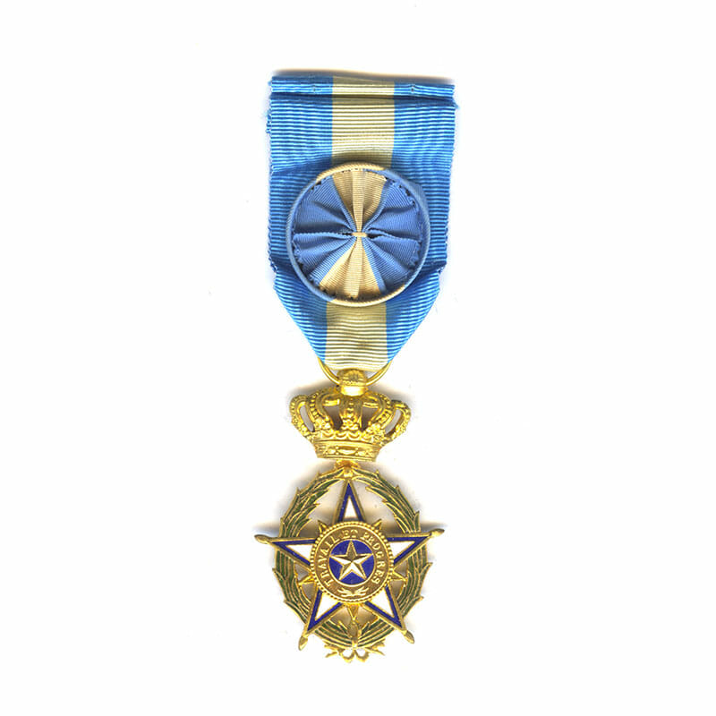 Order of the Star of Africa (Belgian Congo 1888) Officer 1