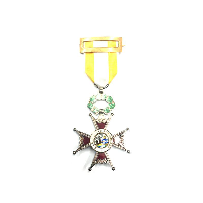 Order of Isabella the Catholic  Knight  Kingdom 1