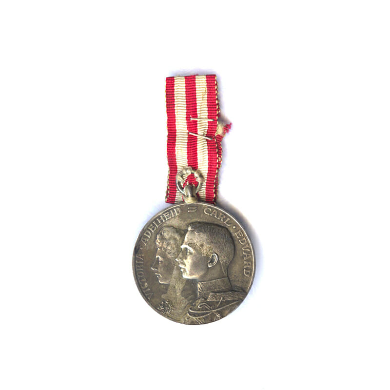 Merit medal for the Wedding of Carl Eduard and Victoria 11th Oct... 1