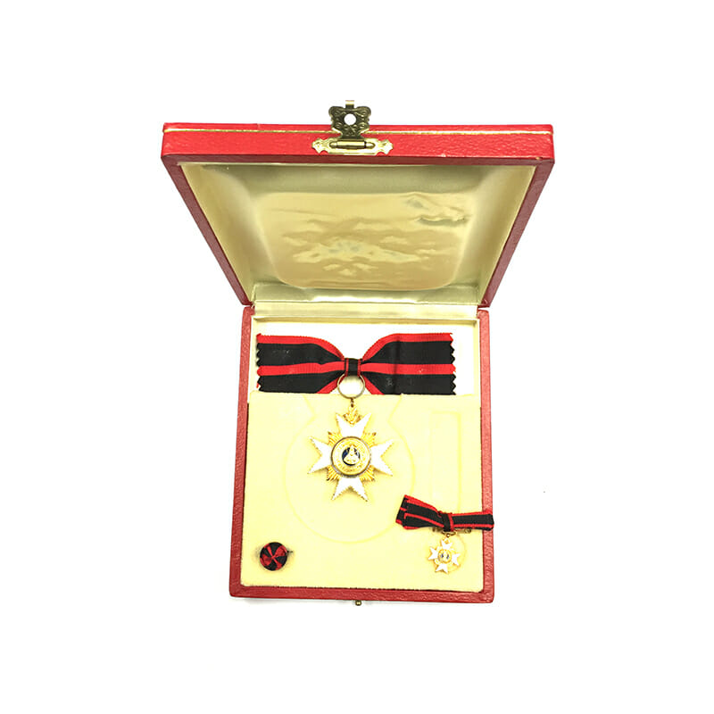 Order of  St. Sylvester Knight  bow ribbon 5