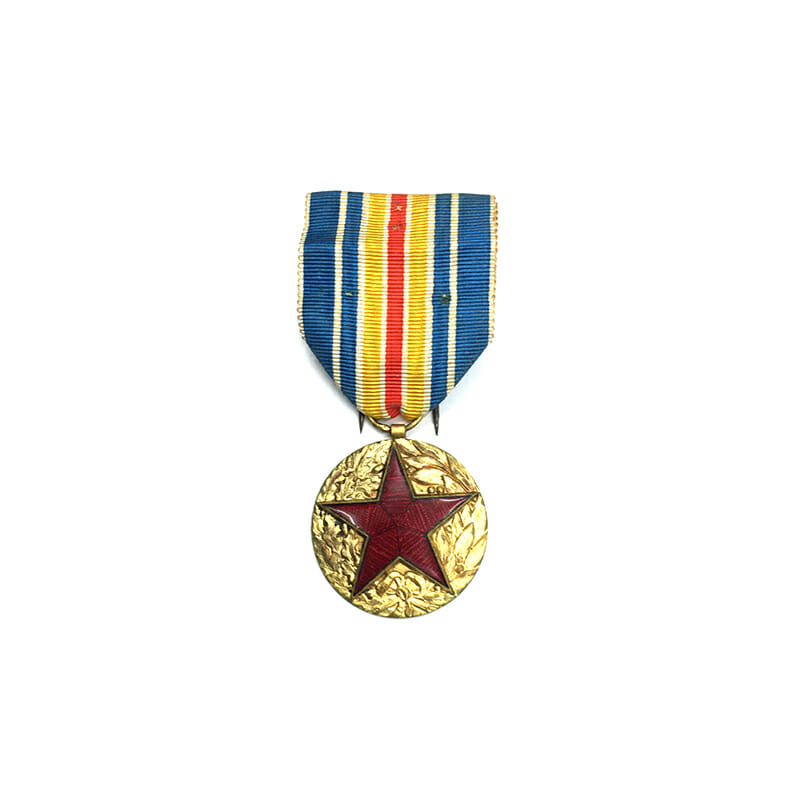 Military  Wound medal red enamelled star in wreath 1