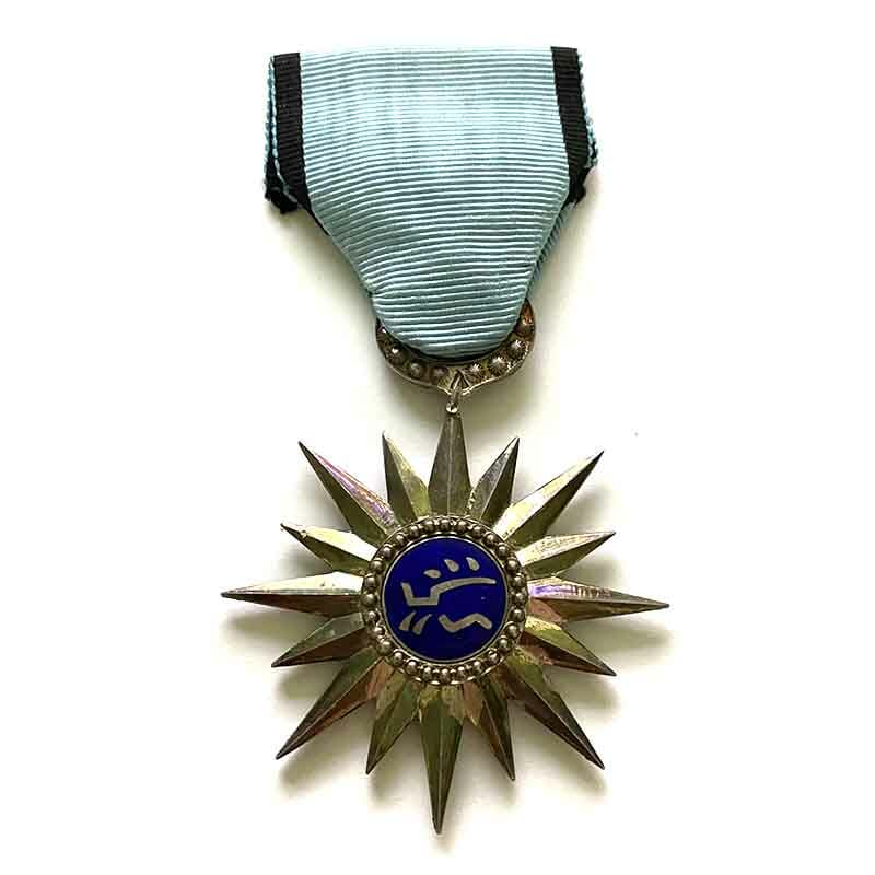 Laos Federation Tai  Cross of Military merit scarce 1