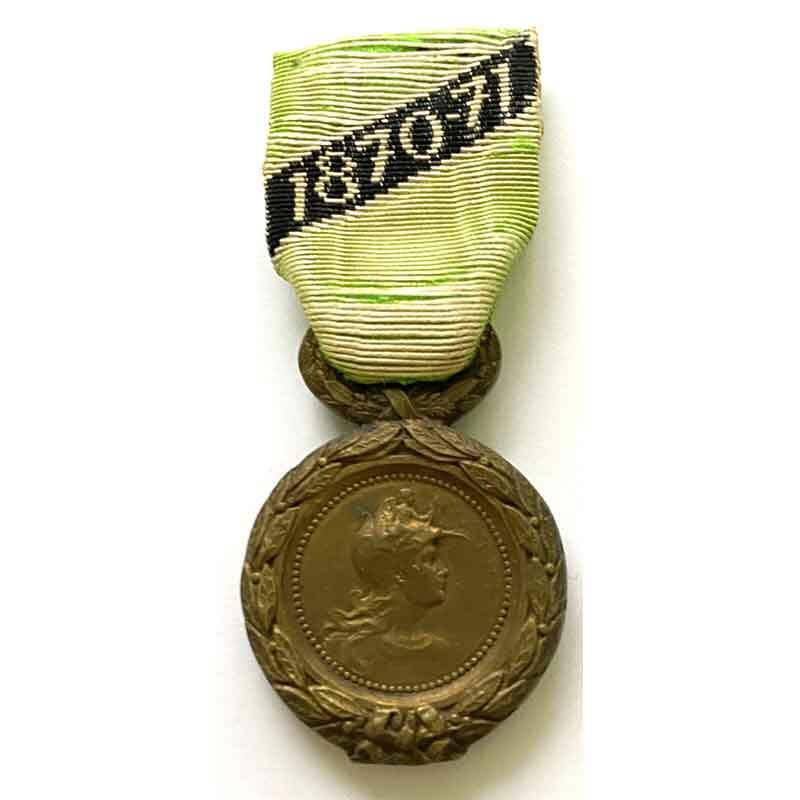 1870-71 Miners Volunteers medal 1