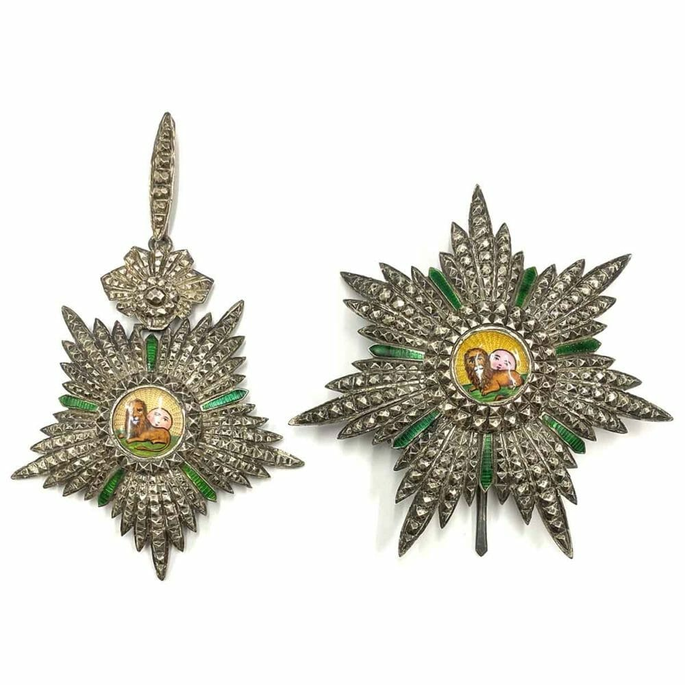 Order of Lion and Sun Grand Officer matching set 1