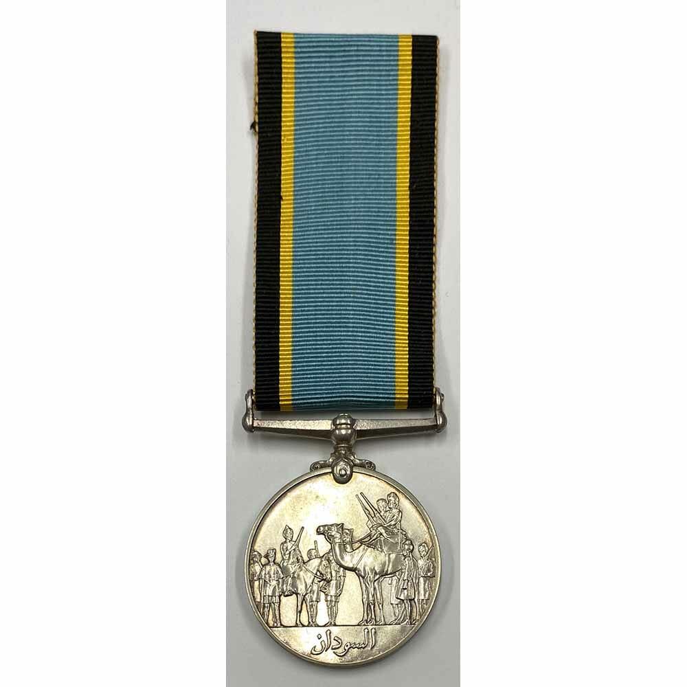 Sudan Defence Force General Medal 1933 silver 1