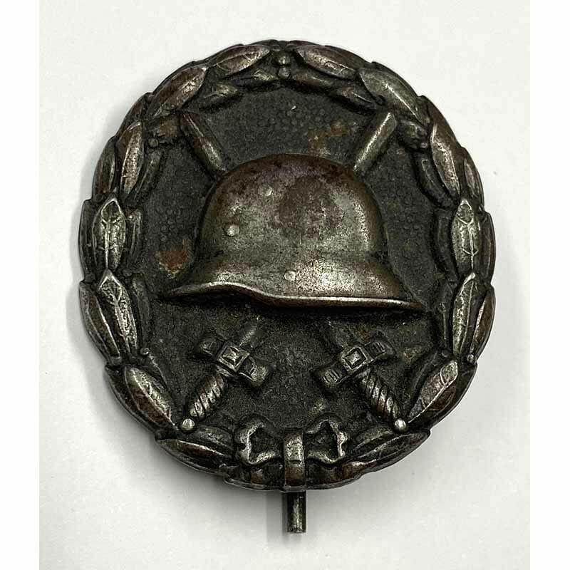 Military Wound badge black WW1 1