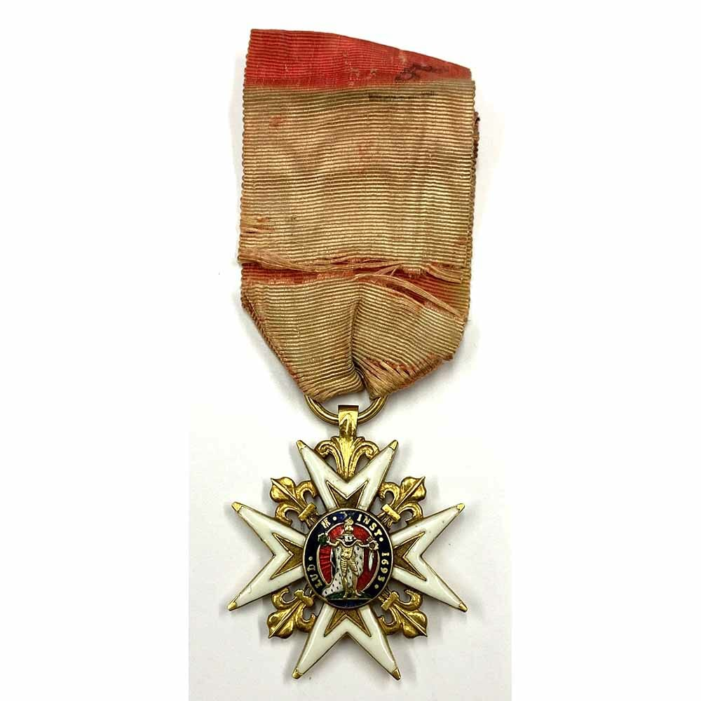 France Order of St. Louis gold very early 2