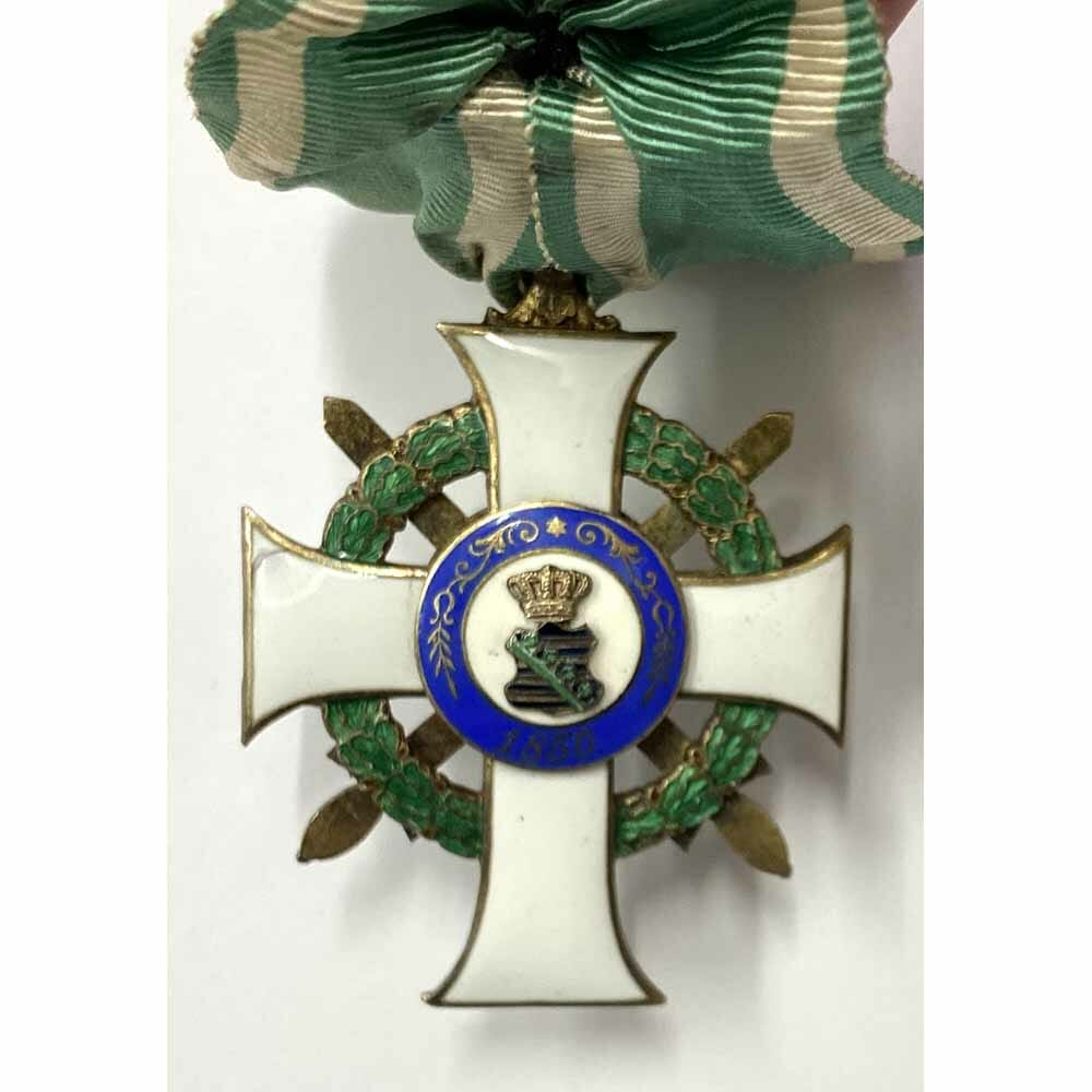 Order of Albert  Knight  1st class  with Swords  silver gilt 2