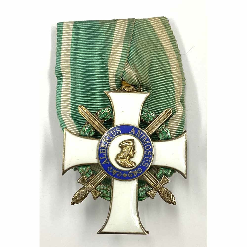 Order of Albert  Knight  1st class  with Swords  silver gilt 1