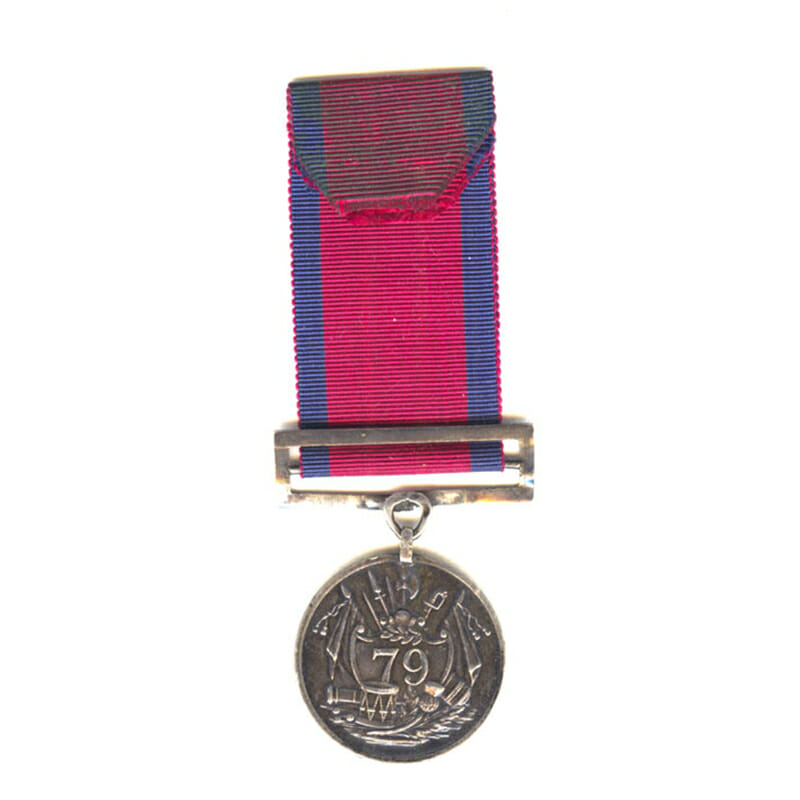 79th Foot Order of Merit Medal 1819 2