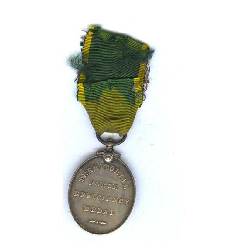 Territorial Force Efficiency Medal (GV) 2