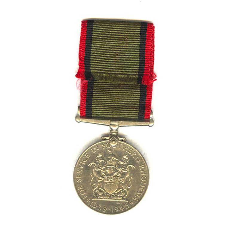 Southern Rhodesia War Service Medal 1939-45 2