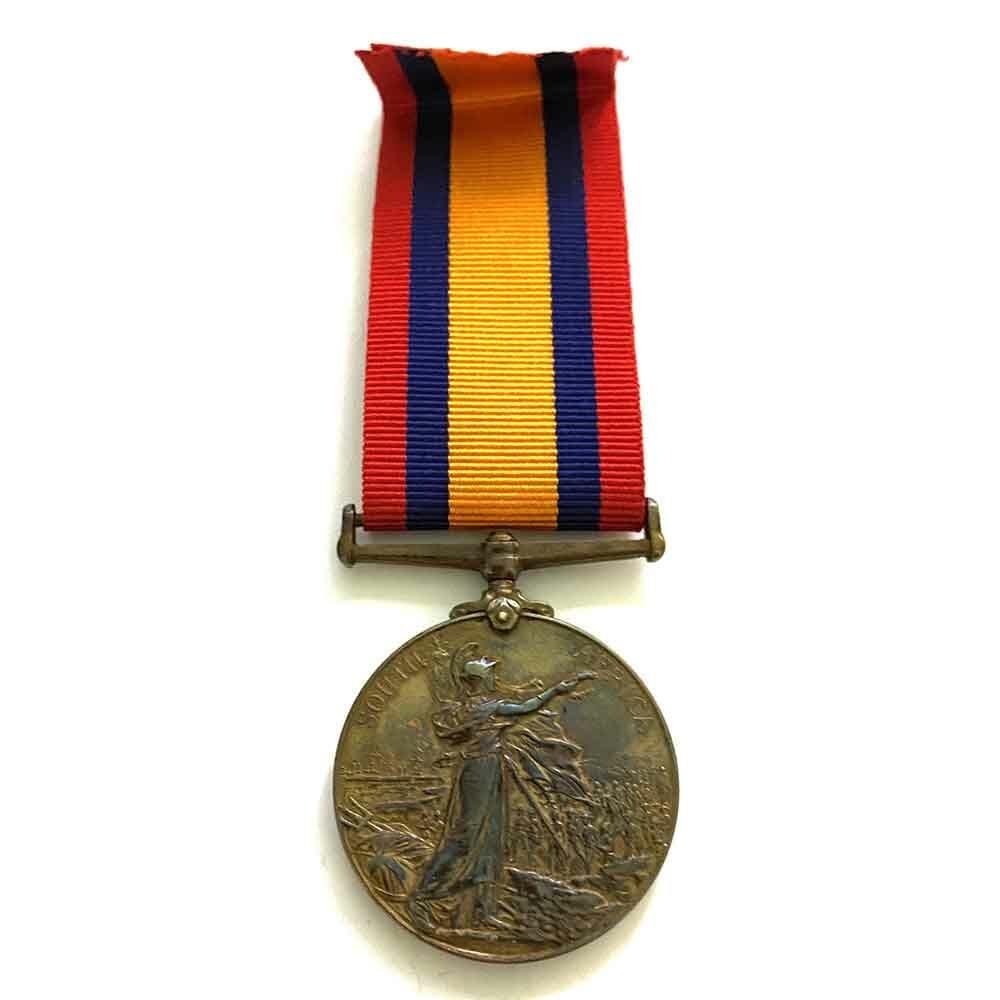 Bronze QSA, Syce to Lt Col Wickham 2