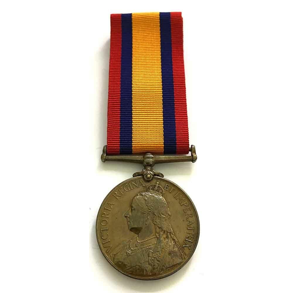 Bronze QSA, Syce to Lt Col Wickham 1