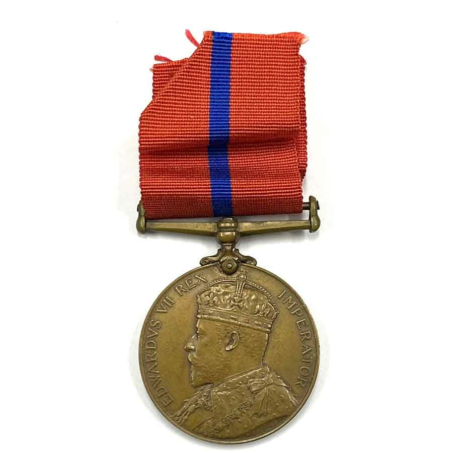Metropolitan Police Coronation Medal 1902 1