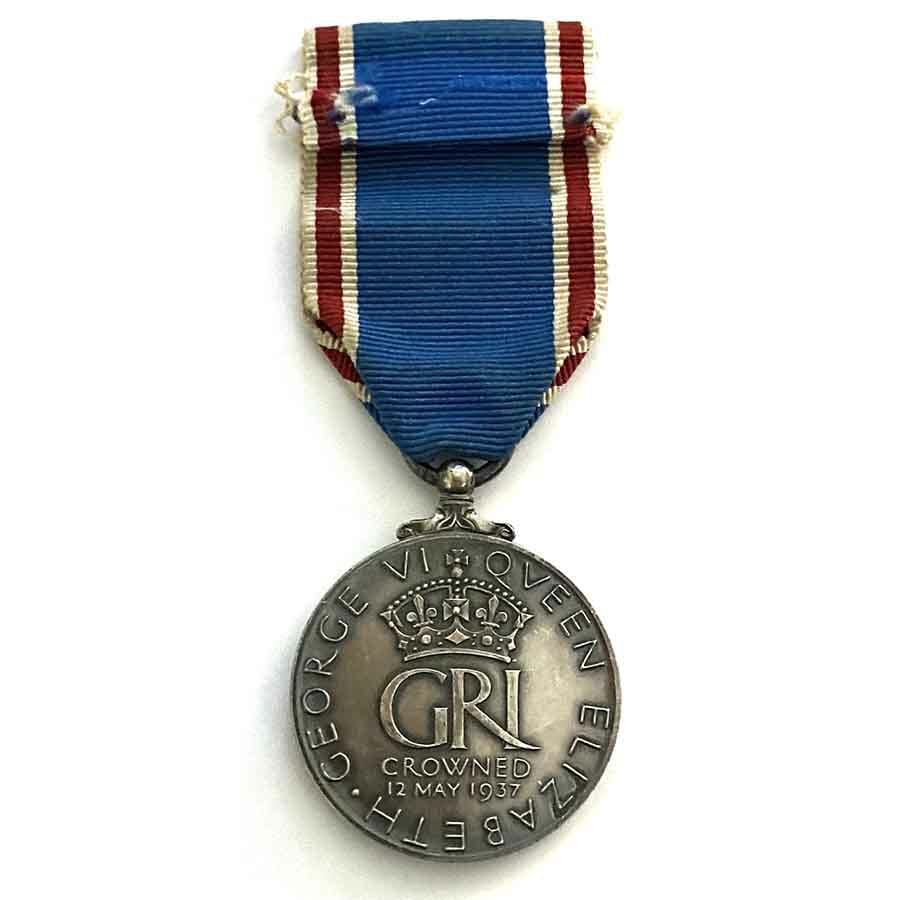 1937 Coronation Medal GVI 2