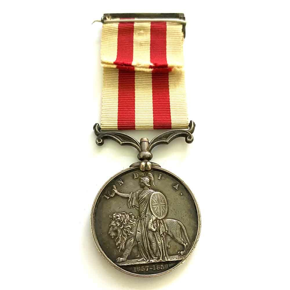 India Mutiny, Major General Kerr, 13th LI 2
