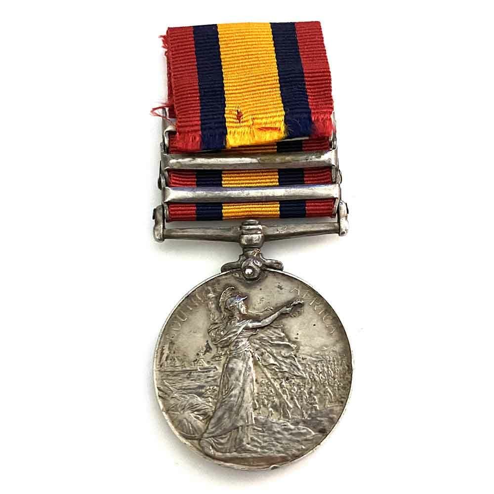 QSA Defence of Kimberley Capt Wounded 2