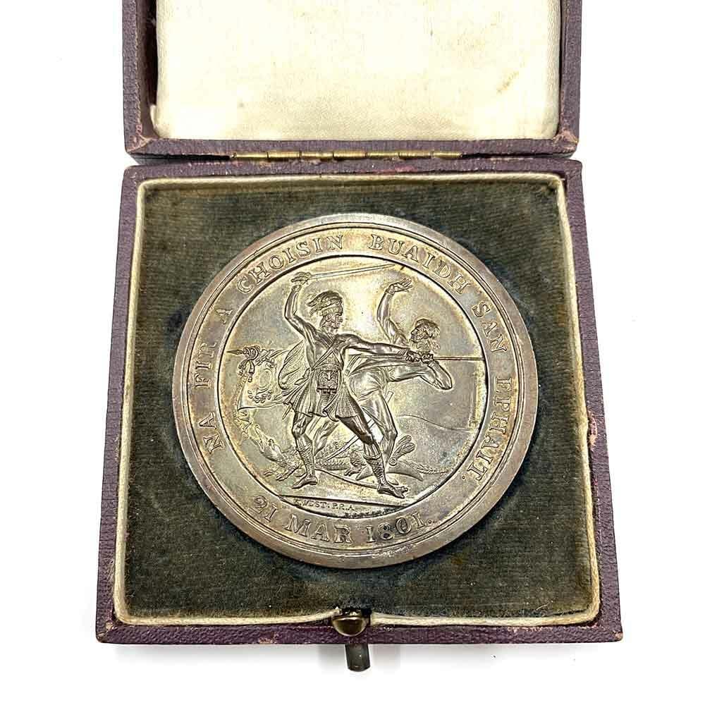 Highland Society Medal Egypt 1801 2