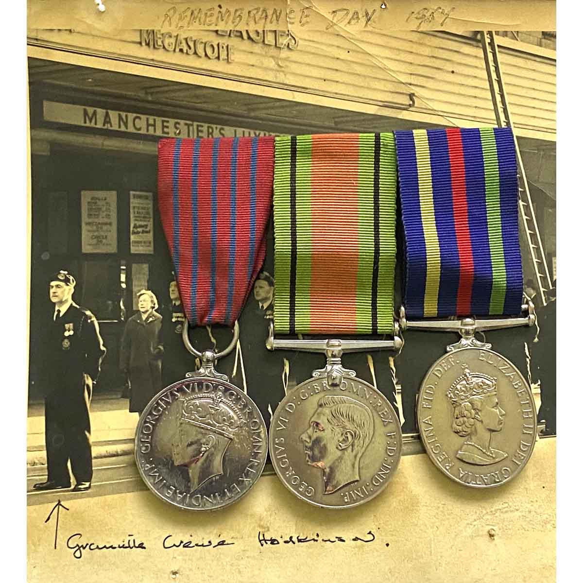 George Medal, Manchester Blitz 1