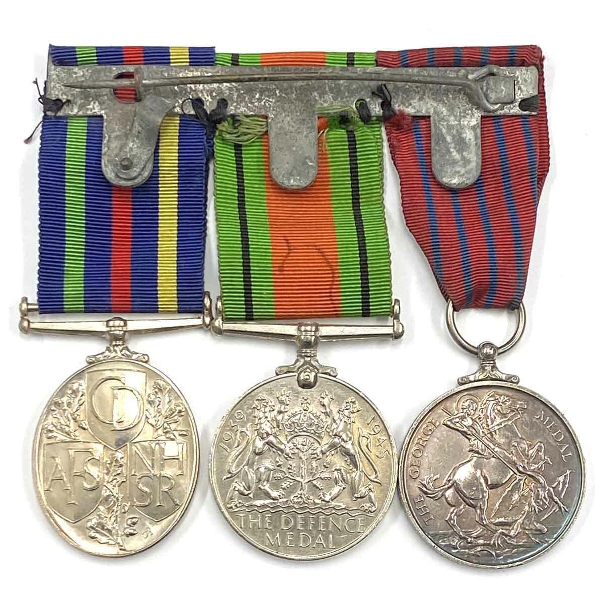 George Medal, Manchester Blitz 3